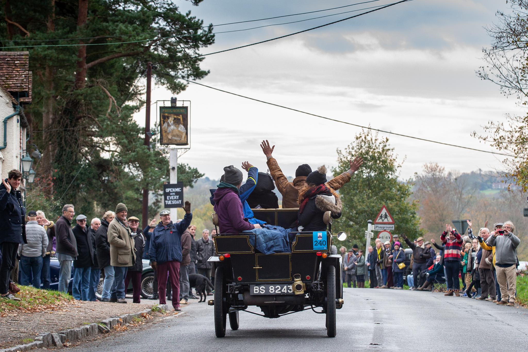 The Bonhams London to Brighton Veteran Car Run